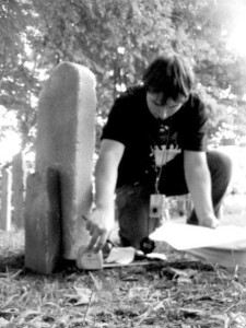 Measuring the distance between tombstones on Poultrygeist